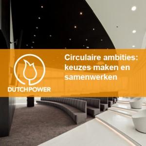 Circulaire ambities: keuzes maken en samenwerken – Eneco World januari 2015 – Dutch Power